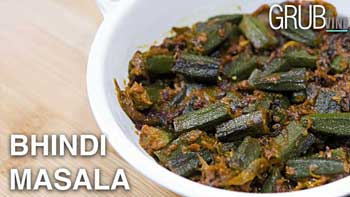 Bhindi Masala recipe post