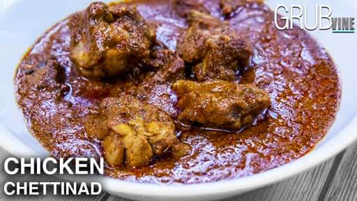 Chettinad Chicken curry recipe Grubvineweb