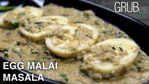 Egg Malai Masala recipe Grubvineweb
